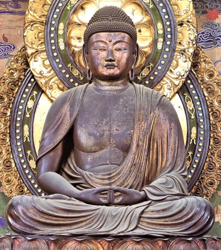 西園寺・阿弥陀如来坐像(鎌倉・重文)