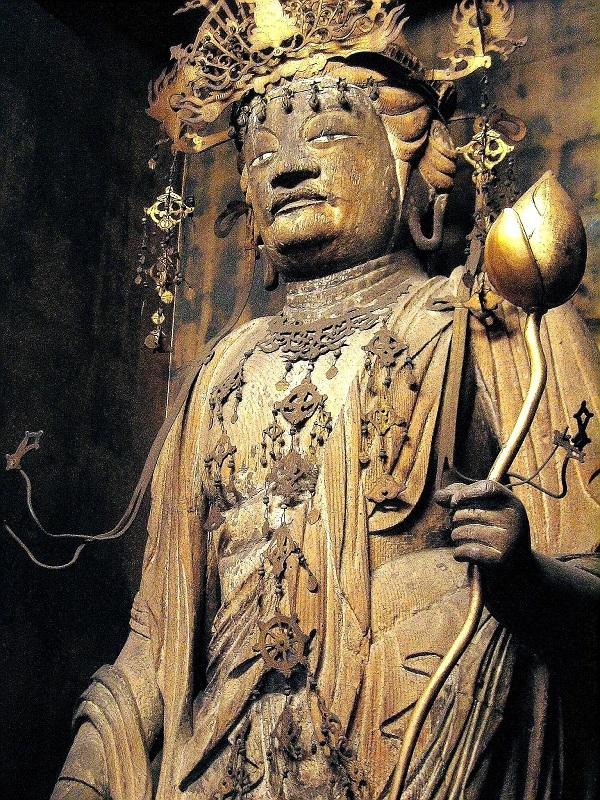 勝光寺・聖観音像