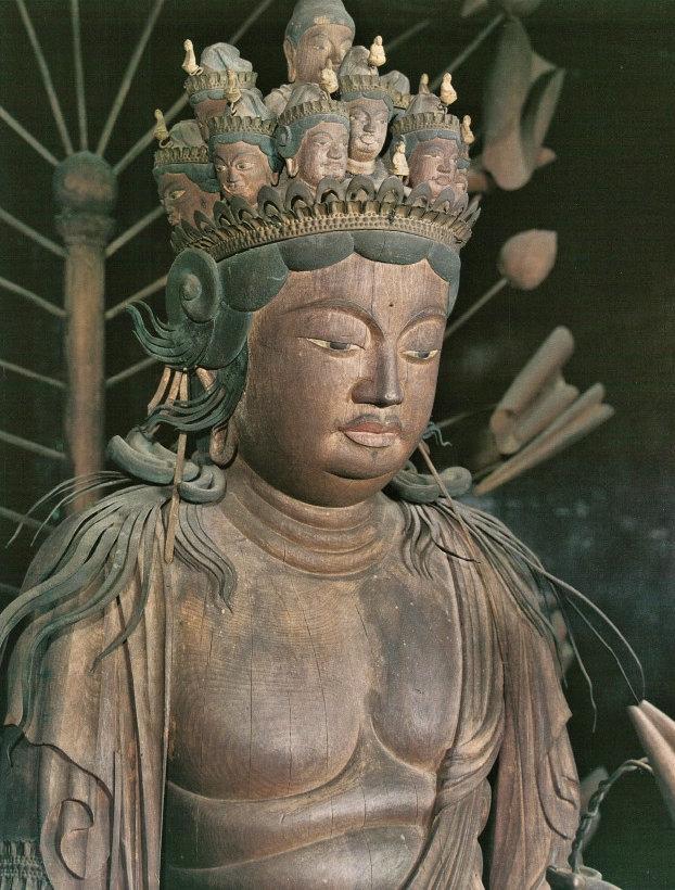 法華寺・十一面観音像