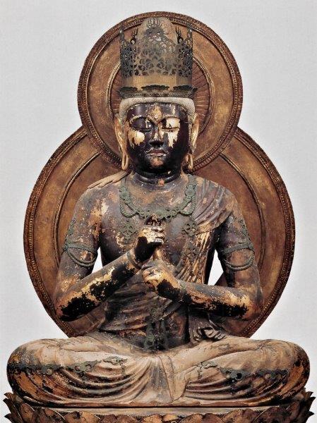円成寺・大日如来像(1176年運慶作・国宝)