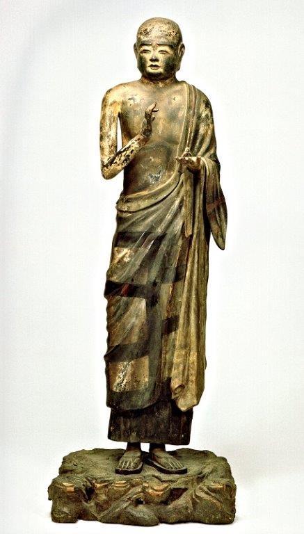 菅原大三郎が復元制作した興福寺・十大弟子像