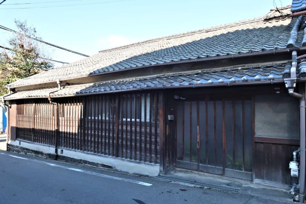 奈良きたまちにある竹林高行の旧宅
