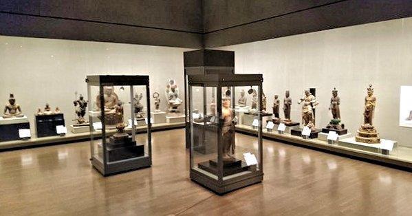 写真撮影OKとなった和歌山県立博物館「仏像と神像へのまなざし」展、会場