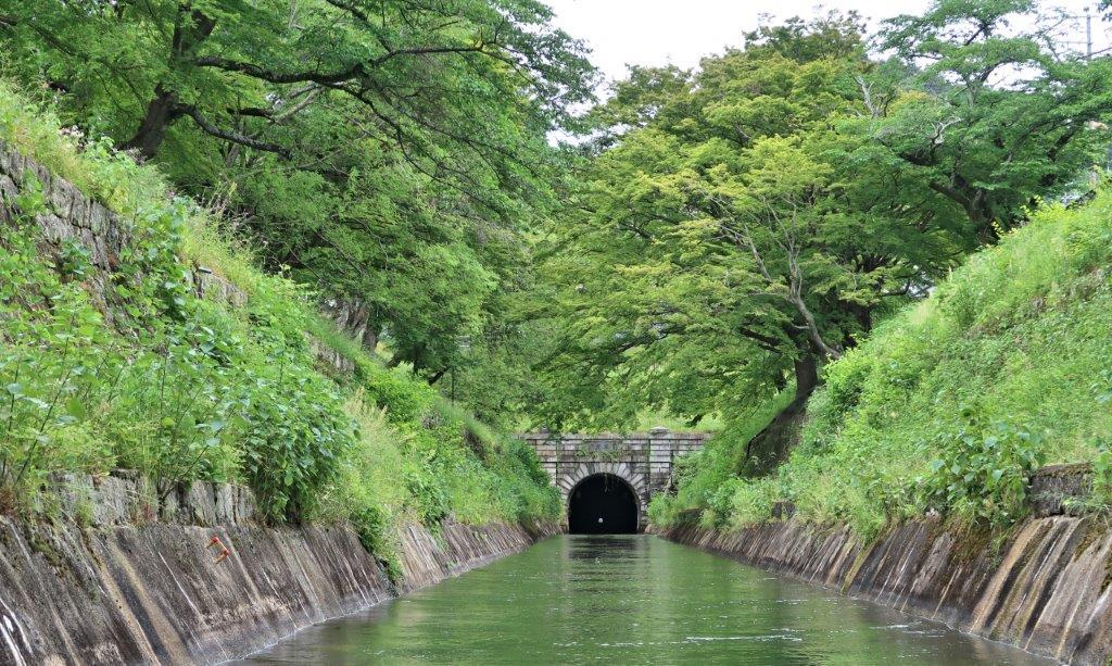 琵琶湖疎水船~大津三井寺口