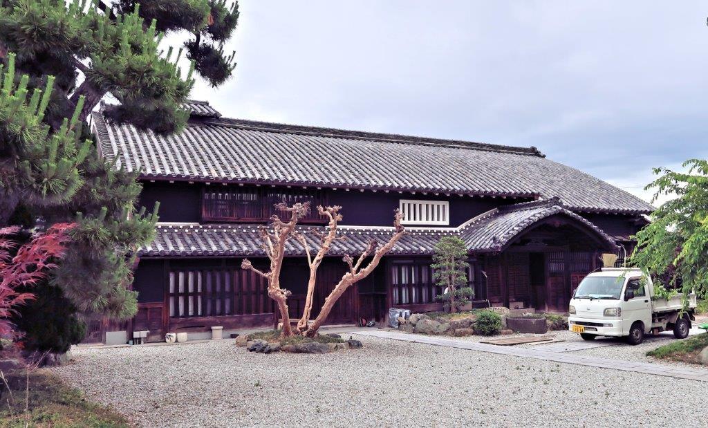 北畠治房旧邸の母屋