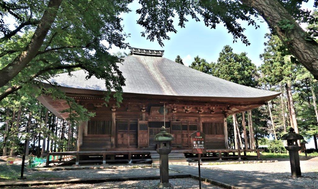 勝常寺・本堂
