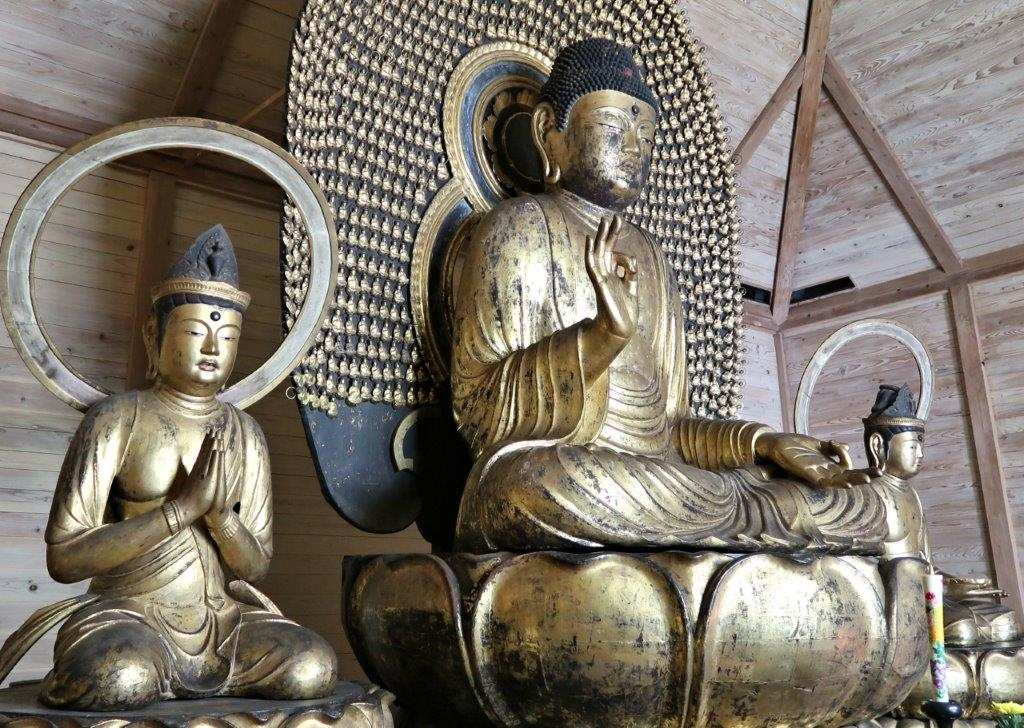 願成寺・阿弥陀三尊像(鎌倉・重文)