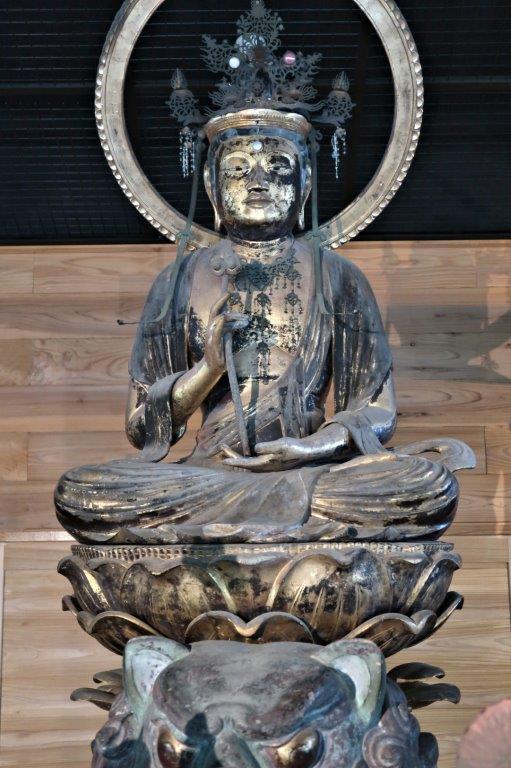 新宮熊野神社・文殊菩薩像(鎌倉・県指定)