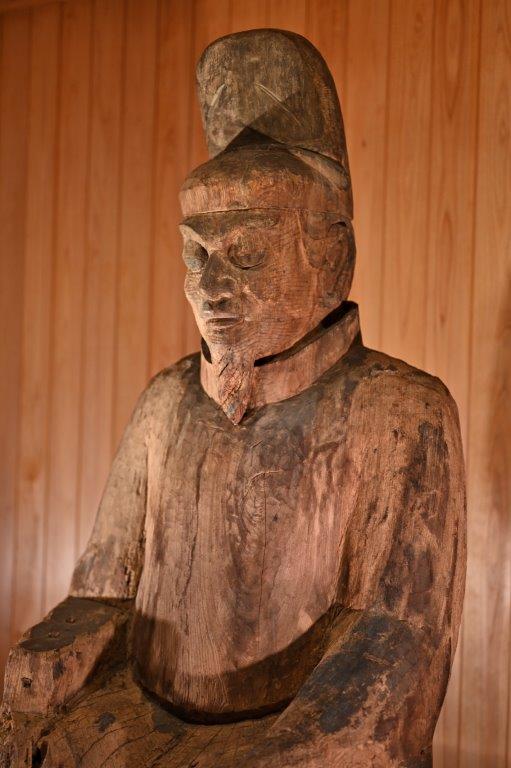 二上射水神社・男神像