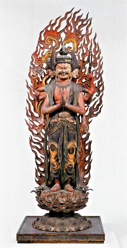 像内に双身毘沙門天像が納められていた浄瑠璃寺・馬頭観音像(鎌倉・重文)