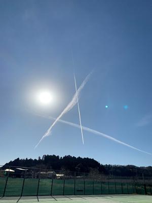 飛行機雲c