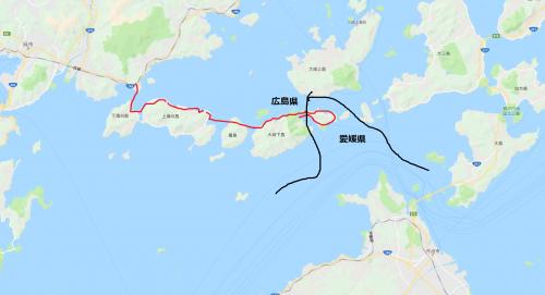 7橋7島ドライブ旅行20190616