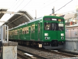 東急1000系1013F緑の電車 鵜の木にて