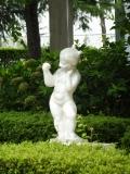 JR前橋大島駅 大島公園の少女像