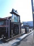 JR美川駅 おかえり祭り台車モニュメント