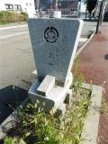 JR美川駅 北前船道標4