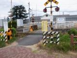 山形鉄道長井駅 裏口