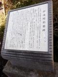 JR二宮駅 伊達時彰徳碑 説明