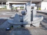 JR十日町駅 空からの贈り物(電車ごっこ)