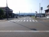 JR十日町駅 西口駅前通り