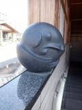 JR十日町駅 東口自由通路の石像 不明