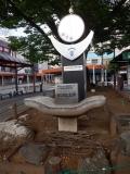 JR蕨駅 蕨都市計画蕨駅前西口土地区画整理事業竣功記念碑