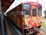山形鉄道YR-880形YR-883 今泉にて