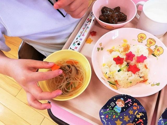 食育活動~七夕献立~5