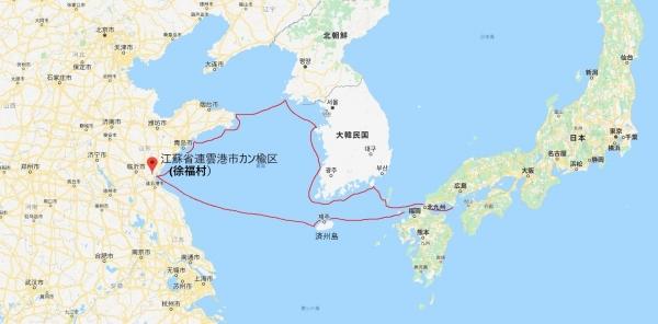 日本の徐福伝承地と秦氏の関係4