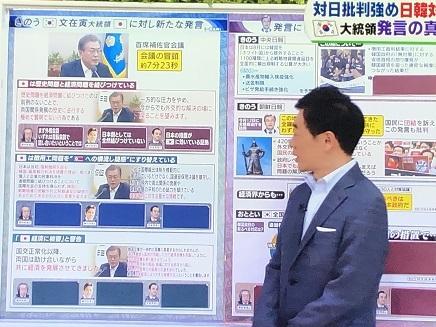 7162019 TV 日韓 韓国首脳発言 S2