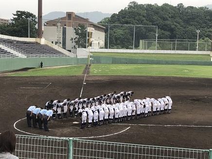 7182019 呉二河球場 広高2ー1敗退 S7