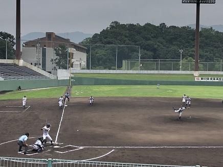 7182019 呉二河球場 広高vs尾道高 S5