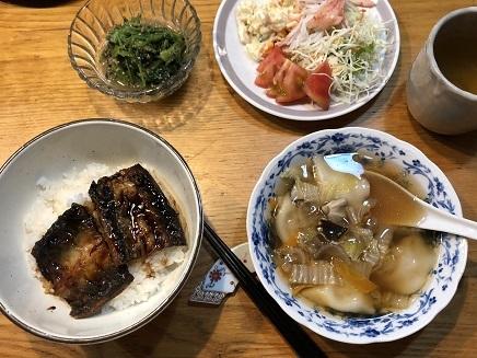 7212019 Dinner no 晩酌 S