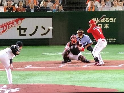 7312019 Carp vs Giants 3-2 Suzuki S1