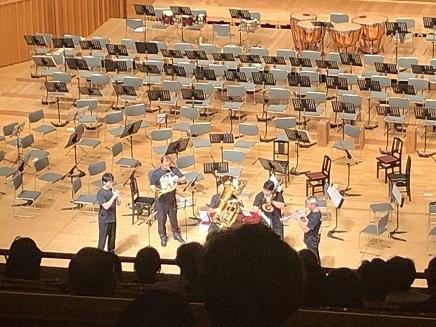 8112019 呉信金ホール コバケン 管楽器五重奏 S4