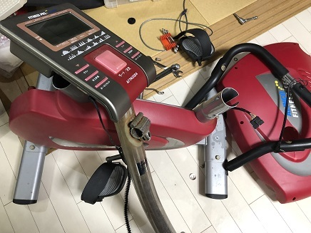 8092019 エアロバイク分解 S3