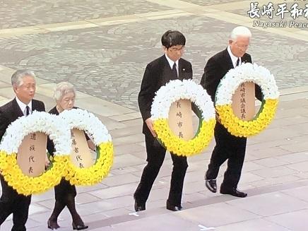 8092019 長崎平和祈念式典供花 S4