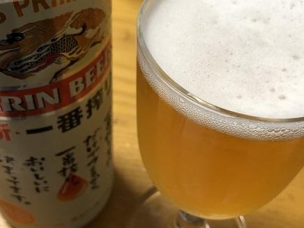 8092019 晩酌ビール S1