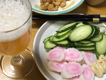 8092019 晩酌ビール S2