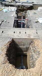 熊野造成下水道工事