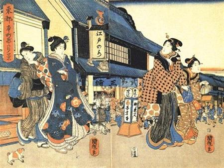 江戸時代庶民