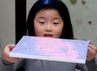 WAVEアート キャンバスに描く絵画