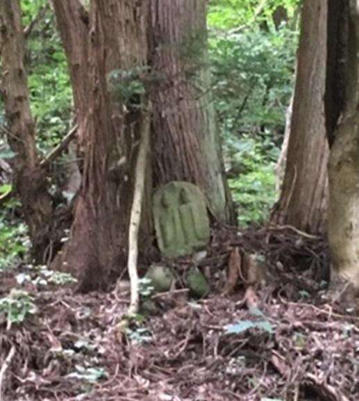 道祖神(石畳-拡大)