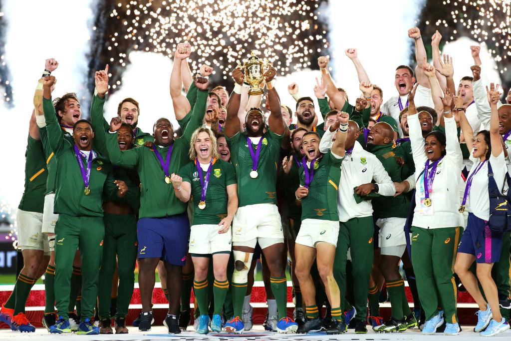 南アフリカの3度目の優勝