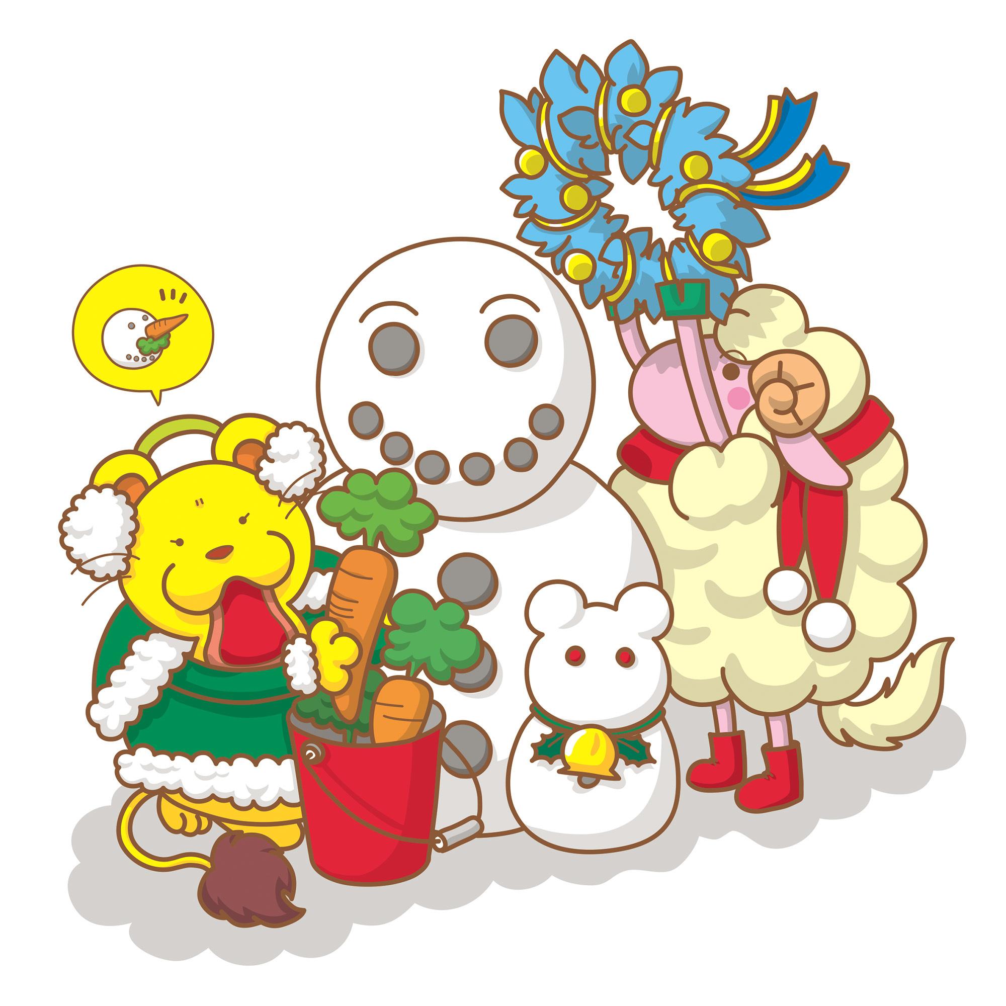 もんもとうるるんのクリスマス2019