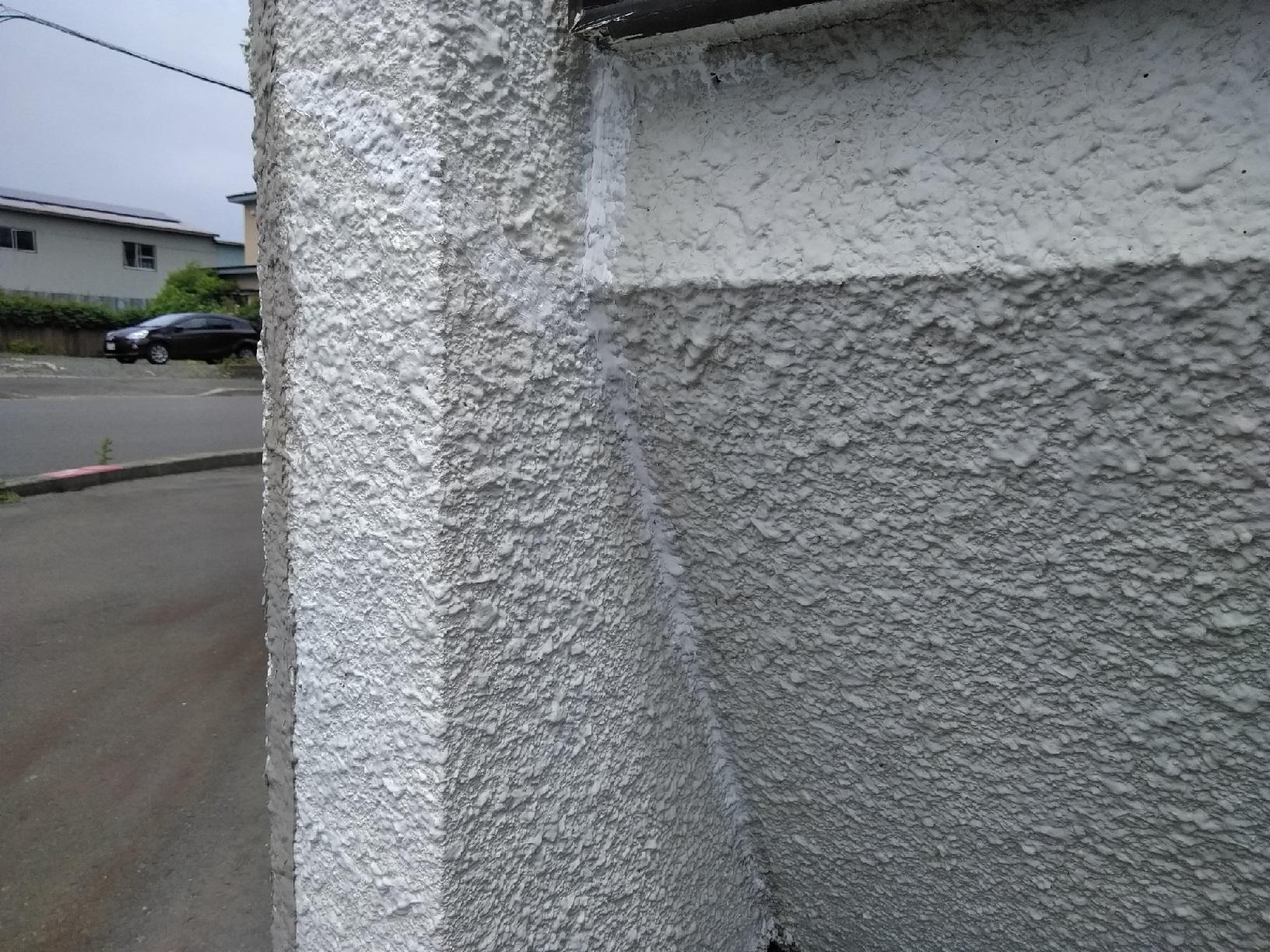 治水町K様邸 外壁 一部クラック補修