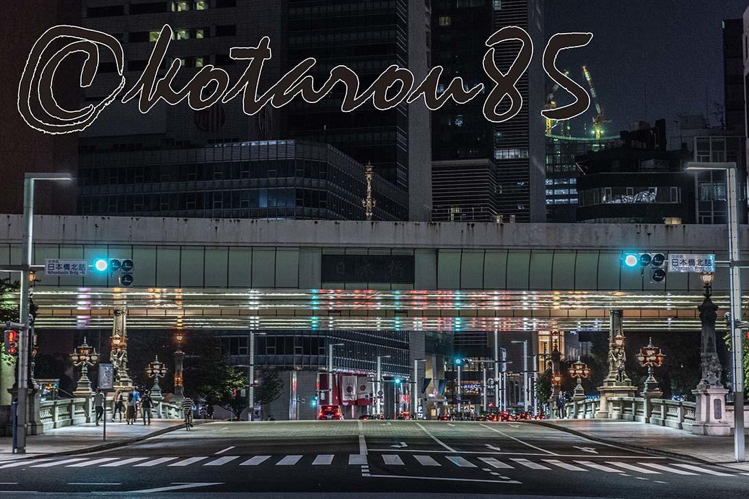 深夜の日本橋 20190720