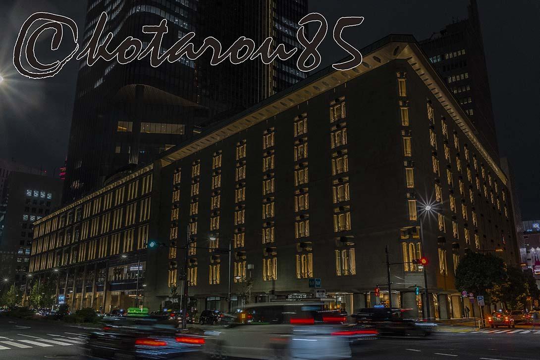 深夜の帝国ホテル 20191016