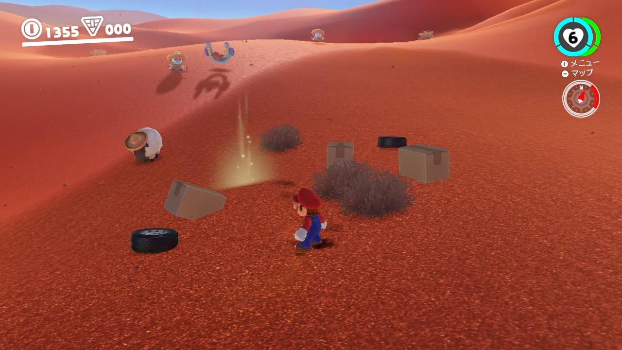 スーパーマリオオデッセイ® 砂の国 パワームーン-45