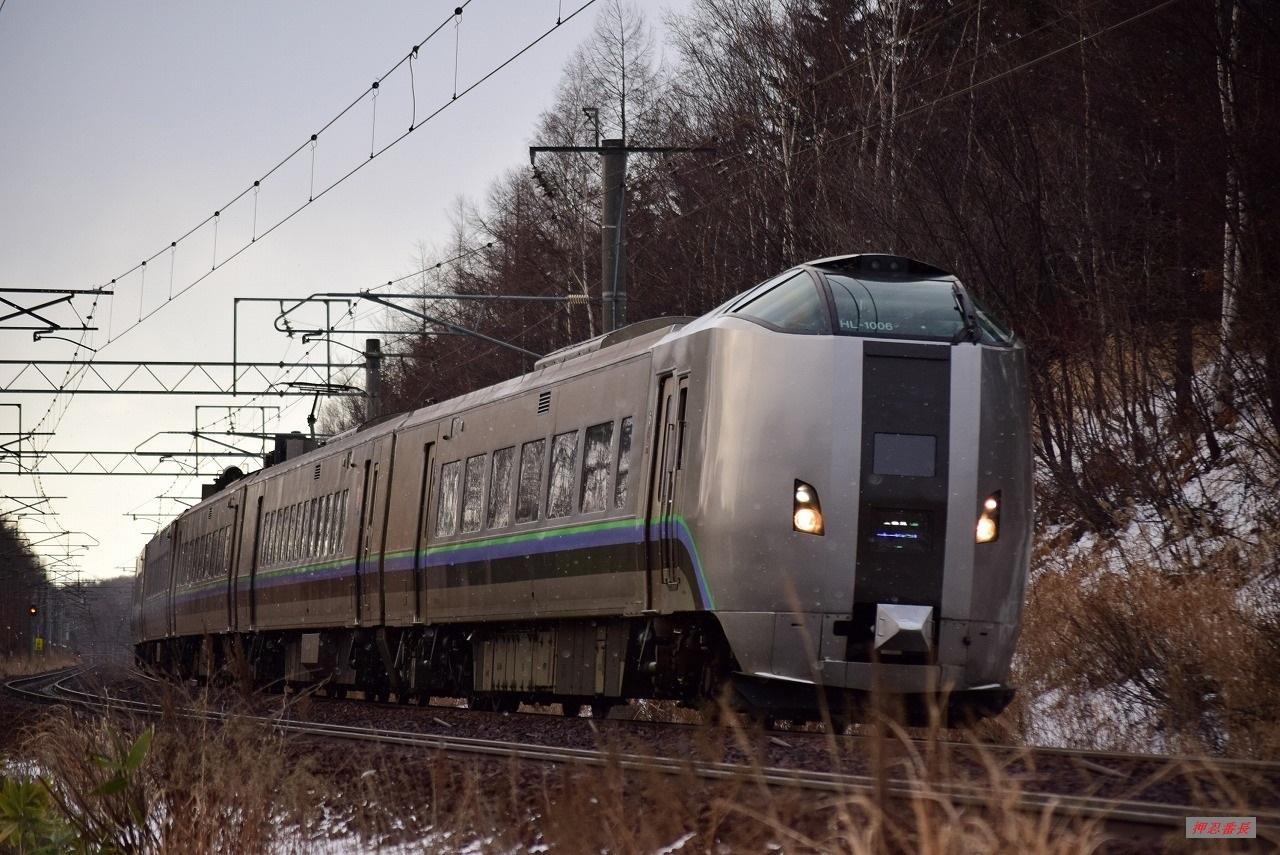 1003M すずらん3号 789系HL-1006 20191229